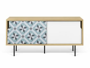 Temahome DANN TILES 135 sideboard with metalic legs