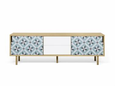 Temahome DANN TILES 201 sideboard with wooden legs