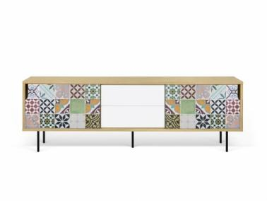 Temahome DANN TILES 201 sideboard with metalic legs