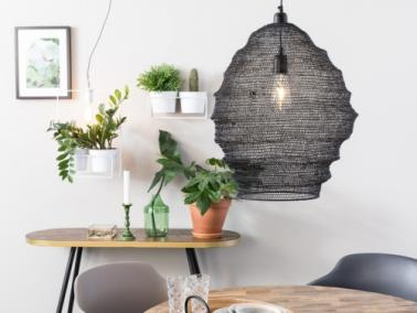 LENA black pendant lamp