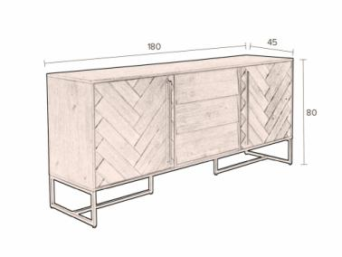 Dutchbone CLASS high sideboard