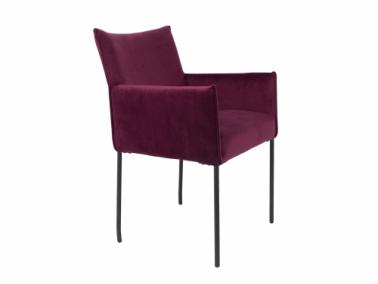 DION velvet lounge chair