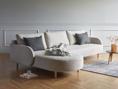 Kragelund ASKOV ROUND 2 sofa with oak legs