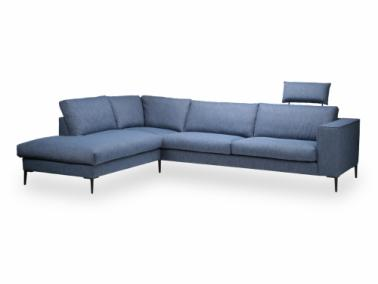 Theca COSTA corner sofa with open end