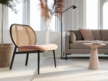 Zuiver SPIKE rattan lounge chair