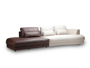 Theca PETRONE sofa with open end
