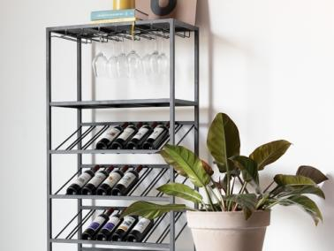 Zuiver CANTOR wine shelf