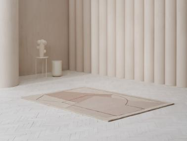 Linie Design FURBO rug | rose