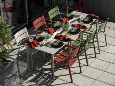 Brafab NIMES 200 outdoor dining table
