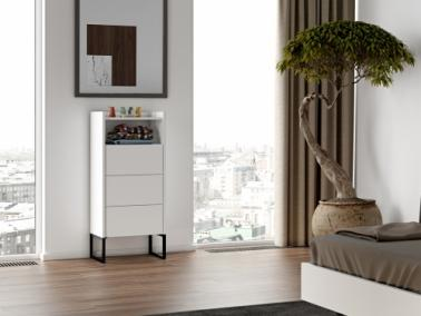 Temahome MARA chest of drawers with metallic legs