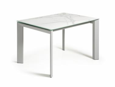 La Forma ATTA 120 extendable dining table | grey leg