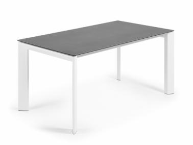 La Forma ATTA 160 extendable dining table | white leg