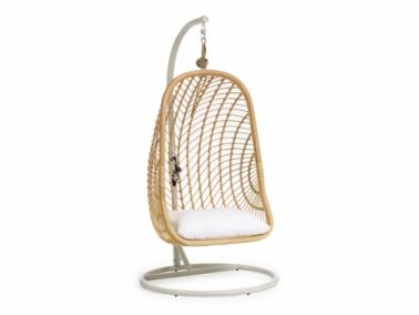 La Forma EKATERINA hanging chair with base