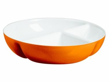 Guzzini VINTAGE TWO-TONE Hors d'oeuvres dish