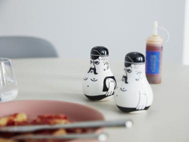 Normann Copenhagen FRIENDS salt and pepper