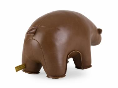 Züny BROWN BEAR doorstop and bookend